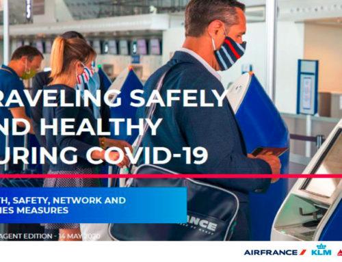 AIRFRANCE KLM DELTA – Misure di salute e sicurezza