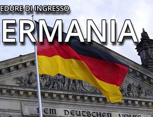DESTINAZIONE GERMANIA: aggiornamento 8 novembre 2020