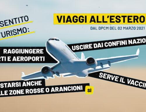 Si può viaggiare dall'Italia verso l'estero per turismo: la conferma di ASTOI